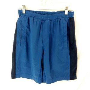 Mens Lululemon Pace Breaker Shorts Blue Medium
